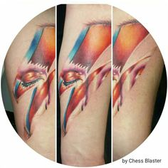 Tattoo David Bowie - tatteo.com