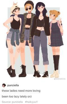haikyuu girls