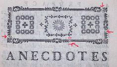 Les deux points (flèches rouges) qui sont intercalés permettent de justifier correctement le bandeau avec le corps du texte.