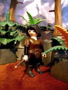 Arya Stark aus Game of thrones. Playmobil