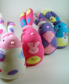 Sock Bunnies2 | Flickr: Intercambio de fotos