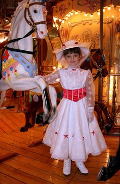 Mary Poppins Jolly Holiday Costume Dress Set by mom2rtk on Etsy