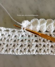 Crochet petal edging tutorial