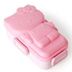 Sanrio Hello Kitty 4 Lock Lunch Container Ice Pack Bento Box Picnic Food Storage #SanrioJapan
