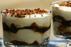 Tiramisu is one of my favorite desserts. The combination of the mascarpone cheese filling with the strong flavor of the coffee syrup is to die for. Traditional tiramisu calls for ladyfinger cookies, but I used amaretti cookies because they are small and fit in the parfait glasses without having to break them. I think amaretti cookies are delicious on their own or when paired with an espresso cappucino, but they take on a whole new life when used in this velvety Italian dessert.I prefer maki...