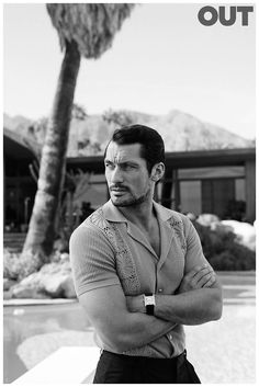 Reuniting with stylist Grant Woolhead, David Gandy is front and center for OUT's February 2015 cover. Captured by fashion photographer Blair Getz Mezibov, David is seen taking in a relaxed day, sporting casual men's staples that include pajama-cut tops in fun spring prints. Enjoyed this update?Stay up to date, and subscribe to our mailing list!... [Read More]