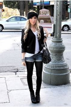shorts jeans inverno