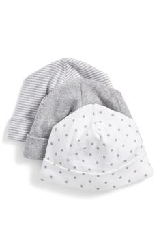 Nordstrom Cotton Hats (3-Pack)_$10