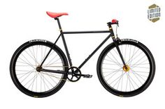Pure Fix | Wallace Limited Edition | 2016 | Black/Red/Gold Hubs