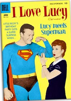 I'm surprised this isn't a DC comic, but George Reeves in character did appear on the show!