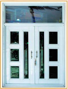 Tham khảo một số mẫu cửa nhôm kính 2 cánh đẹp hiện nay Wooden Window Design, Window Grill Design, Front Gate Design, Steel Gate Design, Aluminium Front Door, Aluminium Windows, Sliding Door Design, Contemporary Doors, Main Door
