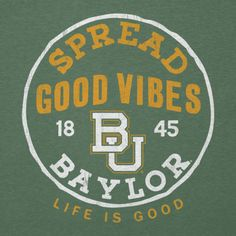 Introducing the Life is Good Collegiate Collection, spreading good vibes for fans, students and alum. Perfect way to start the school year!
