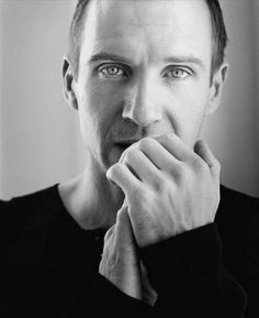 Ralph Fiennes - awesome actor. Seriously though.. Those eyes.