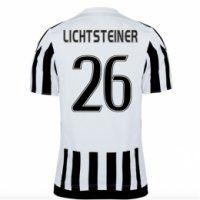 Juventus 2015-16 Season Home LICHSTEINER #26 Jersey