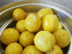 Cooking Is Easy: Lemon Pickle/Vella Naranga Achar (Kerala Style) Lime Pickles, Lemon Pickle, Kerala Recipes, Kerala Food, Homemade Pickles, Yummy Food, Fruit, Vegetables, Cooking