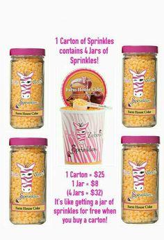 Pink Zebra Party, Pink Zebra Consultant, Sprinkles, Jar, Canning, Food, Essen, Meals, Home Canning