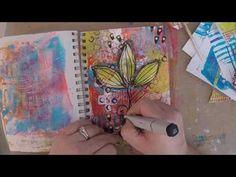 Day 27 #ArtMarks30DayChallenge Art Journaling