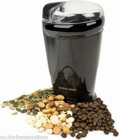 Andrew James Electric Coffee Nut Spice Grinder 150Watt