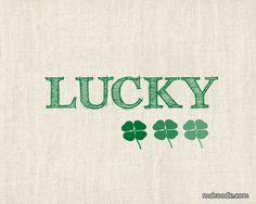 St. Patricks Day Lucky Printable