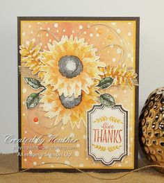 Playing with Papercrafting: Stampin' Up! Painted Harvest For Fall Weather