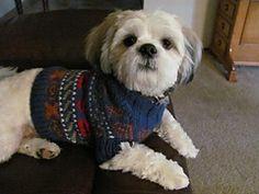 Ravelry: Dog Isle Sweater pattern by Susanna Donato