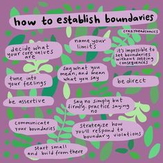 Sharing the words of as part of this weekend of blocking and boundaries posts. What can you begin doing to establish or… The Words, Relation D Aide, Self Care Activities, Les Sentiments, Relationship Tips, Marriage Tips, Healthy Relationships, Coping Skills, Mental Health Awareness