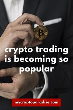 """""""One reason why crypto trading is becoming so popular is the fact that it's extremely easy to trade. With platforms such as Binance, Bybit and Bitmex you can easily invest on any cryptocurrency you want. All these platforms have some really good features that provide the trader with an environment where they can carry out smooth trade and also minimize their losses if a trade does not go according to their plans."""" #crypto #crypto #cryptocurrencies #cryptonews #cryptotrading Fundamental Analysis, Correct Time, Crypto Market, Income Streams, Cryptocurrency, Platforms, Carry On, Investing, Environment"""