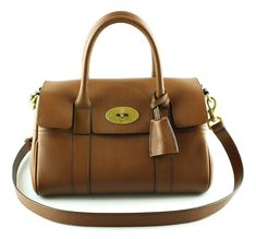Mulberry Small Bayswater Satchel Oak Classic Grain GH Dust Bag, Grains, Classic, Recipes, Leather, Bags, Lush, Derby, Taschen
