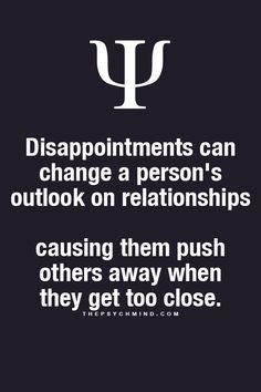 That's me I push away.I sabotage the relationship and I don't even know I'm doing it.what happens when you been hurt so many times. Psychology Says, Psychology Fun Facts, Psychology Quotes, Fact Quotes, Life Quotes, Psycho Facts, Online Psychic, Deep, Life Lessons