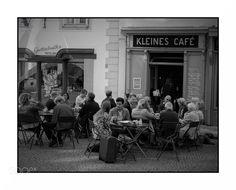 Wien KLEINES CAFE by detlindinger