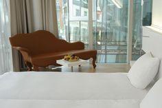 Design Hotel Astoria in Luzern, Schweiz Hotels, Couch, Design Hotel, Bed, Furniture, Travel, Home Decor, Lucerne, Product Design