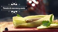 TAMALITOS DE MANZANA Y CANELA   Chef Oropeza