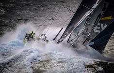 March 30, 2015. Team Brunel rounding Cape Horn Rick Tomlinson / Volvo Ocean Race                                                                                                                                                                                 Más