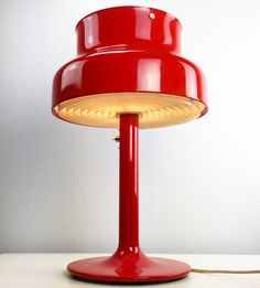 Rare Bumling table lamp by Anders Pehrson for Atelje by Deerstedt Cheap Furniture Stores, Discount Furniture, Light Grid, Mid Century Design, Fire Trucks, Lighting Design, Mid-century Modern, Scandinavian, Table Lamp