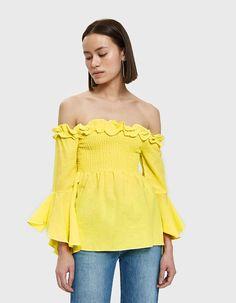 Aubine Top in Yellow