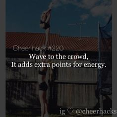Cheer Hack. A MUST DO!