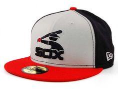 83e133062eda0 Chicago White Sox New Era MLB Cooperstown 59FIFTY Cap