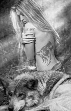 Wolf Images, Wolf Pictures, Beautiful Fantasy Art, Dark Fantasy Art, Wolf Spirit, Spirit Animal, Wolf Hybrid, Wolves And Women, Dances With Wolves