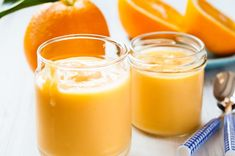 Sauce A La Creme, Jus D'orange, Raw Vegan, Recipies, Paleo, Gluten Free, Pudding, Fruit, Desserts