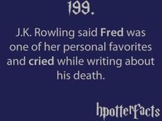 hpotterfacts | Tumblr