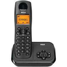 Rca Element Series Dect 6.0 Cordless Phone With Caller Id & Digital Answering System (1-handset System)