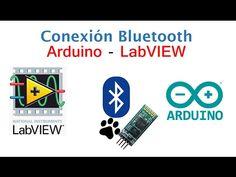 Conexion bluetooth Arduino - LabVIEW basico, encender LED de manera remota - YouTube