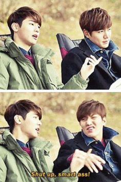 Minhyuk and Minho ♡ #Kdrama // The #HEIRS