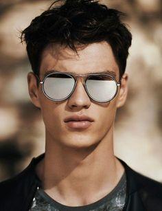 b6b790934cf Luna Bijl   Filip Hrivnak Are The New EMPORIO ARMANI Faces. Emporio  ArmaniGiorgio ArmaniArmani MenMen Sunglasses FashionSunglasses ...