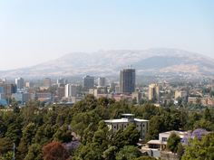 Addis Ababa, Ethiopia...not what most people think it's like...in some ways.