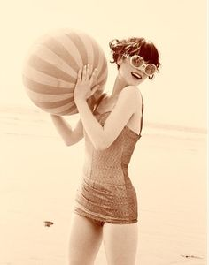 beach retro