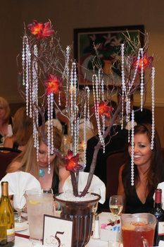 DIY Wedding Challenge: How to make your own Crystal Tree Centerpiece - Project Wedding