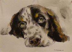 "Daily Paintworks - ""Sage1"" - Original Fine Art for Sale - © Katya Minkina"