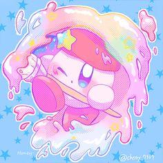 Kirby Nintendo, Iphone Home Screen Layout, Video Game Art, Video Games, Fan Art, Homescreen, Cute Pictures, Geek Stuff, Drawings
