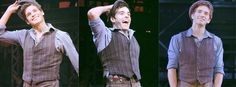 The three Jack Kelly's <--- All my loves in one place. This is wonderful :D